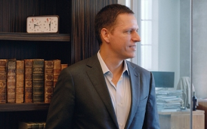 In-Q-Tel investor Peter Thiel puts on his bookish hat for Telegraph Magazine.