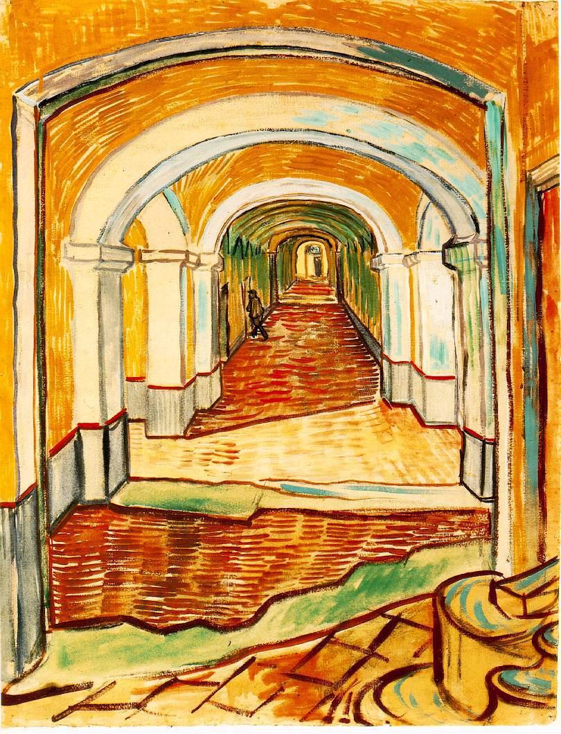 corridor by van gogh