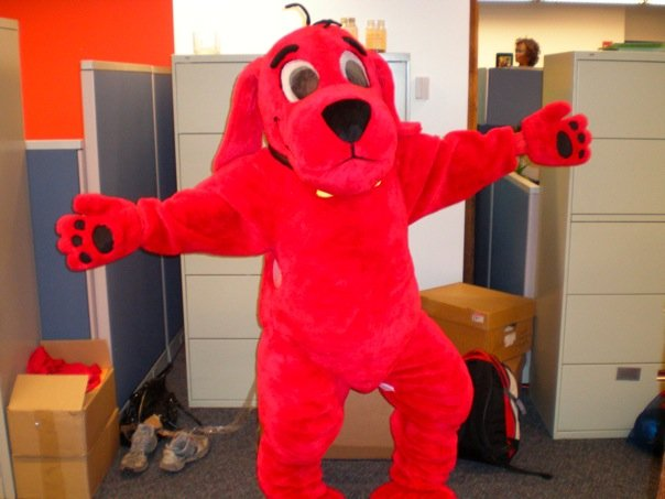 i was a drunken clifford the big red dog new pop lit - Clifford The Big Red Dog Halloween Costume