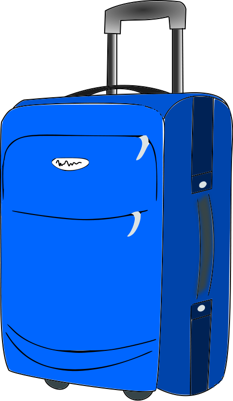 suitcase for an block story