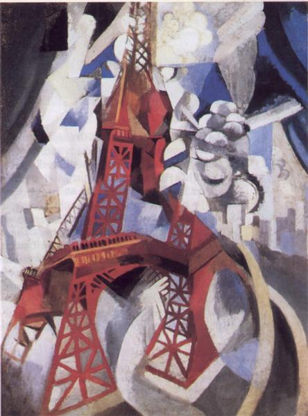 the-red-tower-robert-delaunay