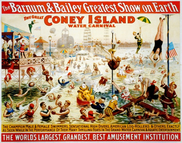 The_great_Coney_Island_water_carnival_poster_for_Barnum__Bailey_1898