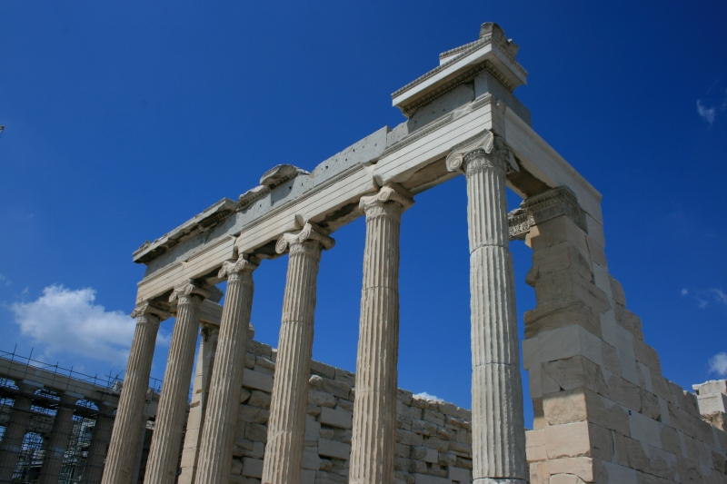 Greek Temple New Pop Lit