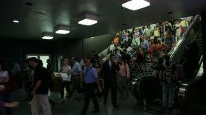 penn sta escalator