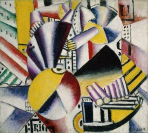 the bargeman fernand leger