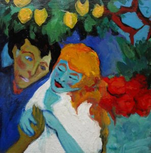 emil nolde in the lemon grove 2