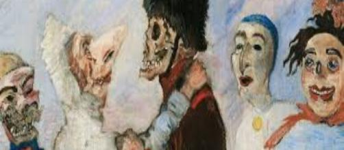 james-ensor skeleton-stopping-masks