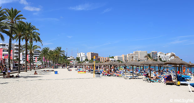 magaluf beach for story