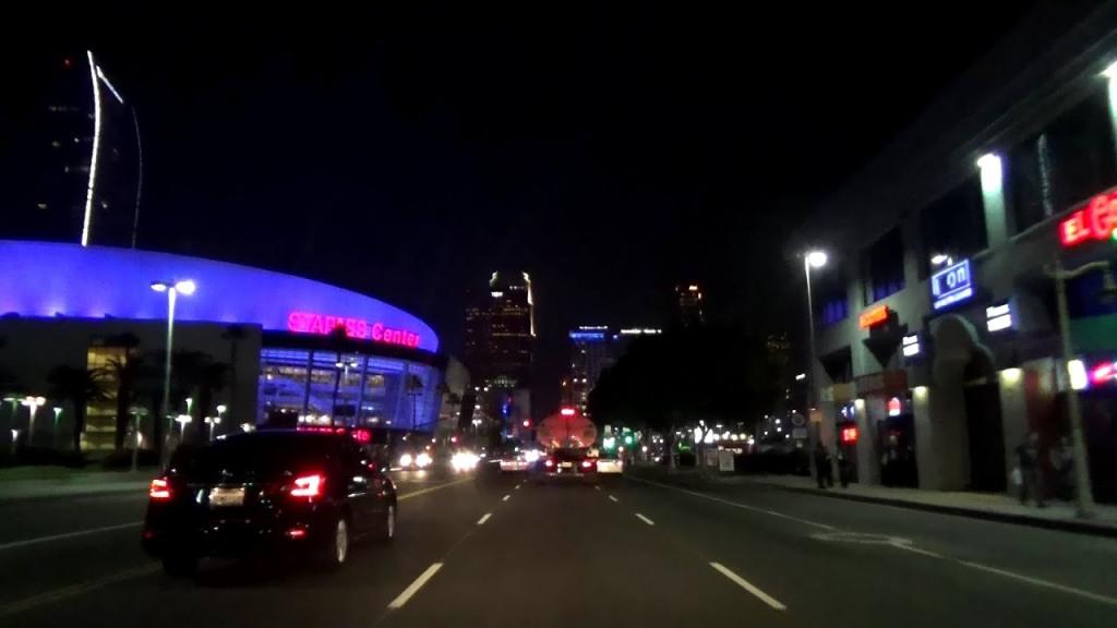 downtown la street
