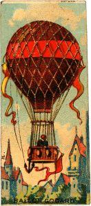 balloon painting by E. Godard